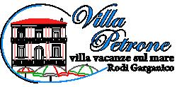 Villa Petrone – Villa vacanze sul mare a Rodi Garganico | (CIS) FG07104391000005292